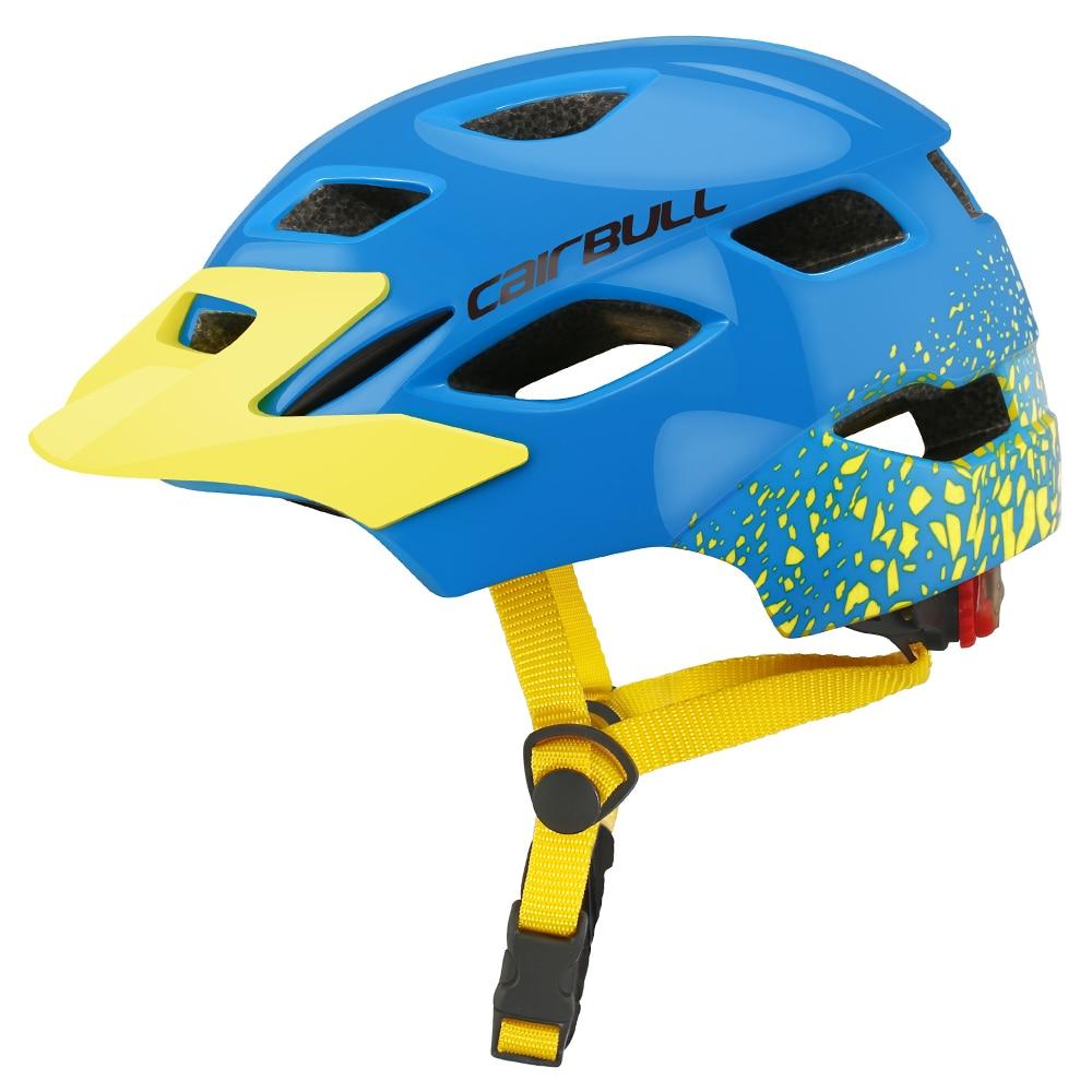 Casque de Sport léger de patinage de vélo avec la lumière de sécurité casques de vélo d'enfants pour des filles de garçons