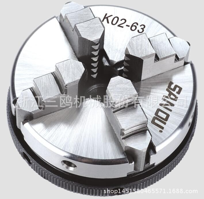 K02-50 50mm Manual Self Centering M14 Thread Mount Reversible Jaws Mini 2