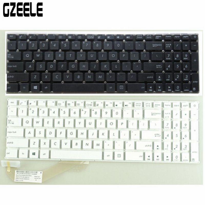 US Laptop Keyboard For ASUS X540 X540L X540LA X544 X540CA A540L K540L A540 K540 A540U English Black