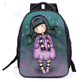 2017 New Design Popular Children Schoolbag Cute Kids Printing Cartoon Backpack Characters Book Bag For Kids Boys Girls Satchel