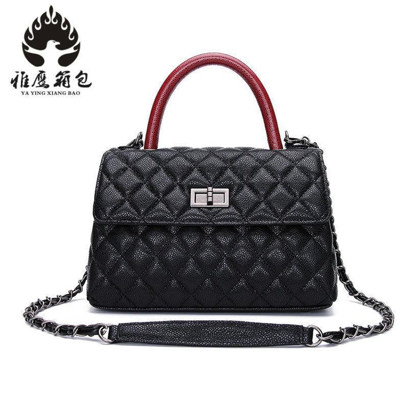 Hot New Plaid Women Bags High Quality Shoulder Bag Patent Genuine Leather Women Messenger Bags Casual Crossbody Bag 2018 new hot item high quality women handbag genuine leather bags women messenger bag vintage women bag shoulder cross body bags