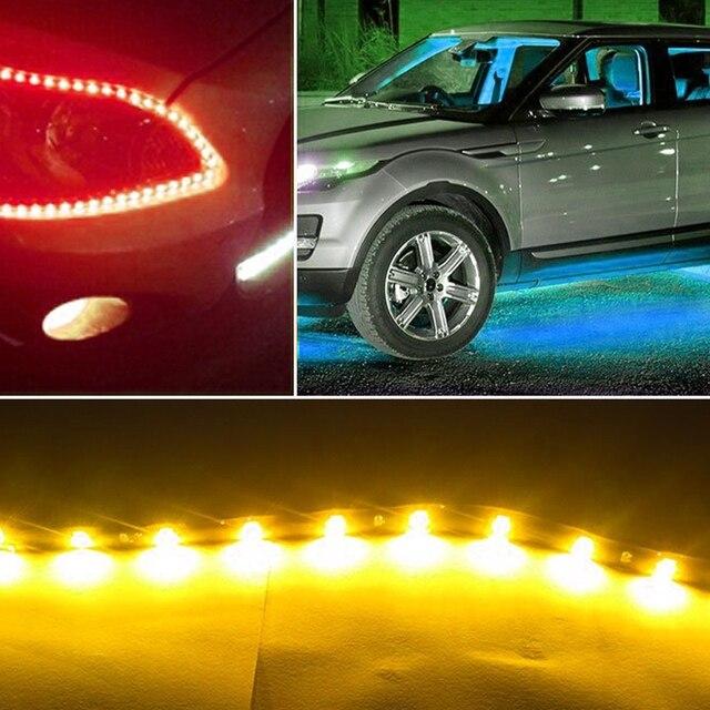 LED Auto Strip verlichting decoratieve verlichting Rood/Blauw/Geel ...