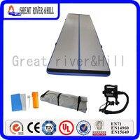 En iyi fiyat gym hava mat spor mat spor dişli şişme hava parça hava kat için home gym ücretsiz pompa ile 10 m x 1.5 m x 0.1 m