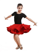 New style girls Latin Dance Dresses For Cha Cha/Rumba/Samba/Ballroom/Tango Dance Clothing Kids Dance Costume Girls Dancewear