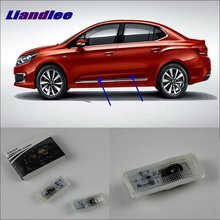 Liandlee For Citroen C4L 2006~2012 Door Ghost Shadow Lights Car Brand Logo LED Projector Welcome Light Courtesy Doors Lamp liandlee car door ghost shadow lights for acura mdx acura zdx courtesy doors lamp brand logo led projector welcome light
