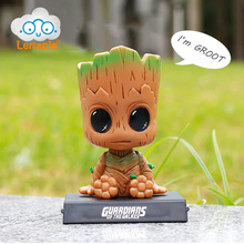 Lensple 12cm Guardians of The Galaxy Vol 2 Tree man Baby Groot Action Figure Car Decoration
