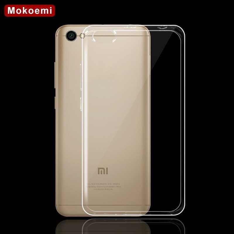 """Mokoemi Ultra Thin Slim Clear Transparent Soft TPU 5.5""""For Xiaomi Redmi Note 5a Case For Redmi Note 5a Phone Case Cover"""