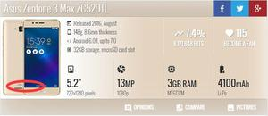Image 5 - الأصلي ل آسوس Zenfone 3 ماكس ZC520TL عودة غطاء البطارية الخلفي الباب الإسكان PC البلاستيك + الجانب مفاتيح + كاميرا الزجاج إصلاح أجزاء
