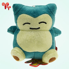 Anime Pokemon Plush Toys Snorlax 15cm 5.5″ Cute Mini Stuffed Toy Doll For Birthday Christmas Day Gift Anime