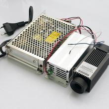 Фокусируемый 4 Вт 808нм 810нм инфракрасный ИК лазерный диодный модуль+ 5 В блок питания ttl