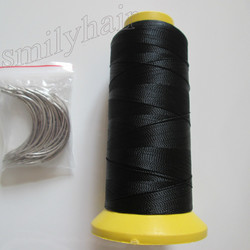 Free shipping 50pcs 6 5cm length c type weaving needles curved needles and 1 roll spools.jpg 250x250