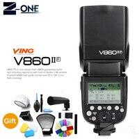 Godox Винг V860II V860II F GN60 2,4 г ttl HSS 1/8000 Li Ion Батарея Камера Вспышка Speedlite для Fujifilm DSLR + подарок комплект
