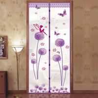 2017 Summer Mosquito Magnetic Soft Door Curtain Anti Mosquito Door Mesh Screen Insect Fly Bug Mosquito