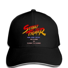 980d08ffdc8fe funny Baseball cap men novelty cap Street Fighter cap Start Screen(China)