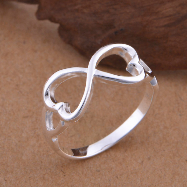 Classic Infinity Rings Best Sister Gift Friendship Endless Love