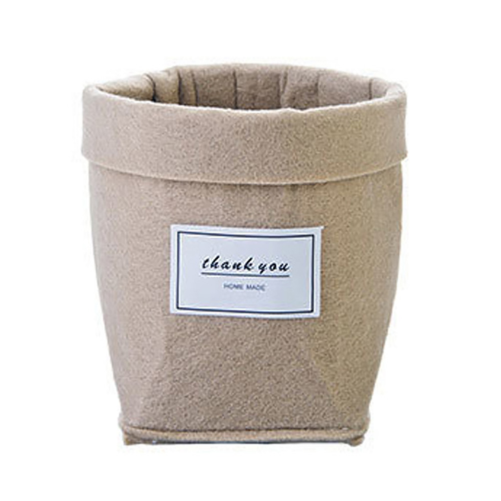 HTB1.F53XLvsK1RjSspdxh7ZepXai - Plant Grow Bag New Home Decorations Desktop Flower Basket Fleshy Pot