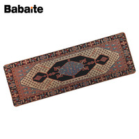 Babaite Personality Persian Carpet Wheel Mouse Pad XL 900 300 MM Or 80 30 CM Professional