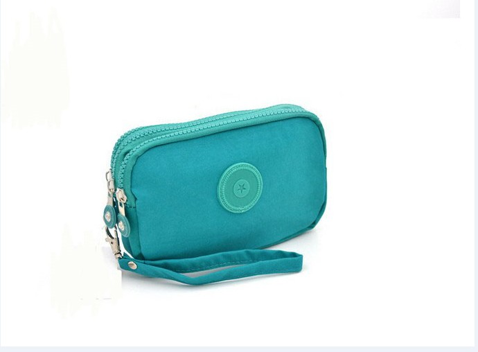 2017 Sale 10 color Casual Nylon Zipper Purses Carteira Kip Purse Wallet Women Men Hasp Clutch Brand Monkey Female Kiple Wallet