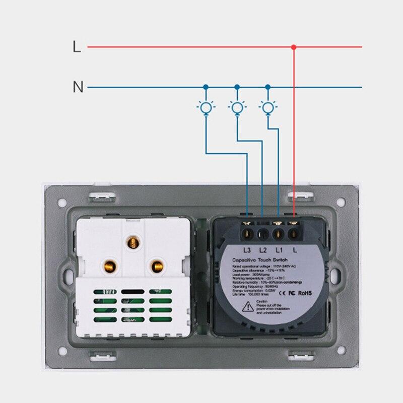 RU-EU-DE-Socket-And-1-2-3Gang-1-Way-Wall-Light-Touch-Screen-Switch-Crystal (1)
