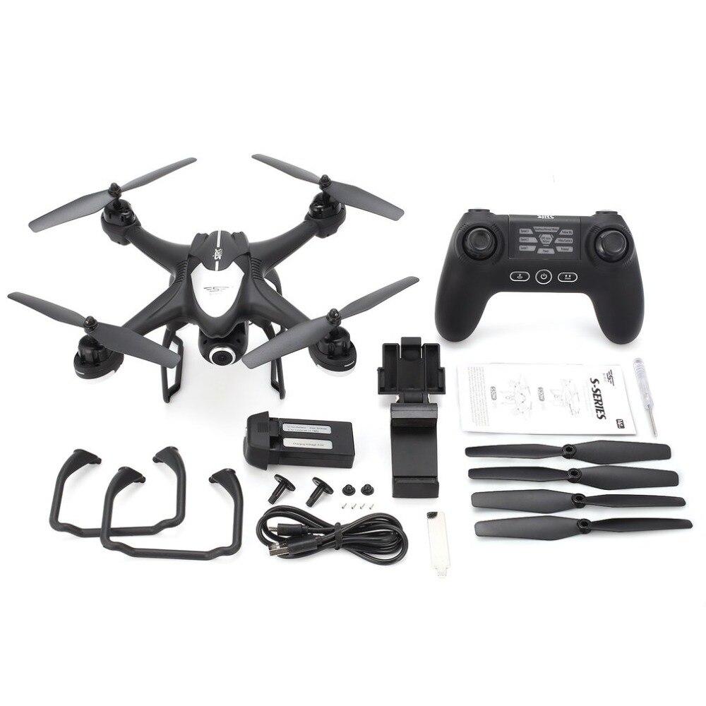 SJ R/C S30W г 2,4 г двойной gps позиционирования FPV системы RC Quadcopter Дрон с P 1080 P Регулируемый широкий формат Wi Fi камера Follow Me зависания