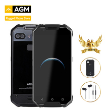 Original AGM X2 IP68 Waterproof Shockproof mobile phone NFC Android 7.1 GMS 6GB RAM 64/128GB ROM Octa Core Dual 12MP CAM 5.5″FHD