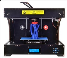 3D printer double nozzle dual head high precision three-dimensional DIY 3D printer 3D printing