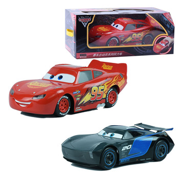 Disney Cars 3 Big Size Mcqueen Jackson Mater Diecast Pull Back Cars