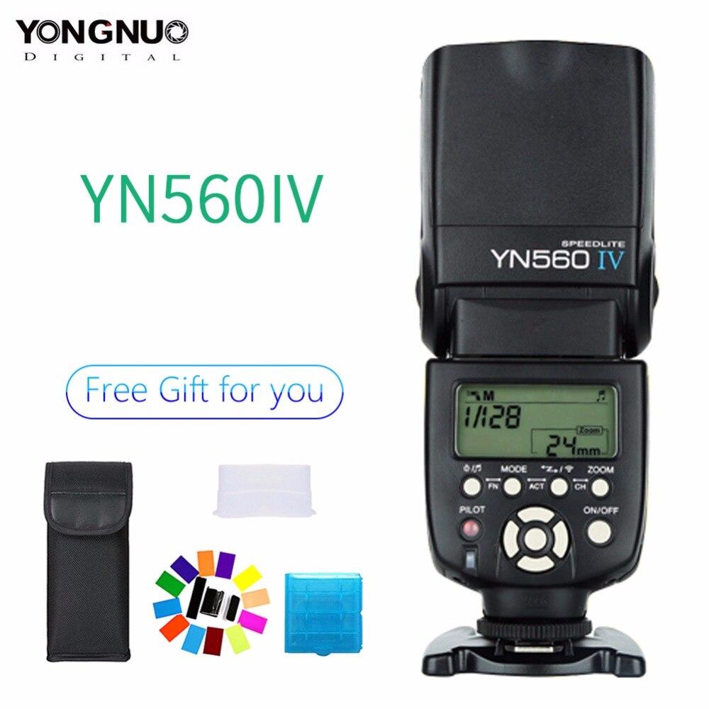 Yongnuo YN560 IV YN 560 IV Maestro Esclavo Radio Flash con construido en Radio gatillo Flash para Canon cámara Nikon-in Flashes from Productos electrónicos on AliExpress - 11.11_Double 11_Singles' Day 1