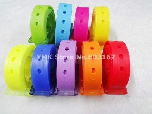 STRONG QUALITY!!Environmental Perfum Fashion TPE Silicone Rubber Belt Unisex Candy Color Belt 3.0CM Free shipping