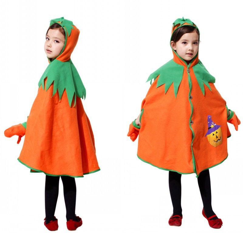 2015 new cute vampire costume halloween costume for kids girl pumpkin witch dress set black witches - Cute Halloween Costumes For School
