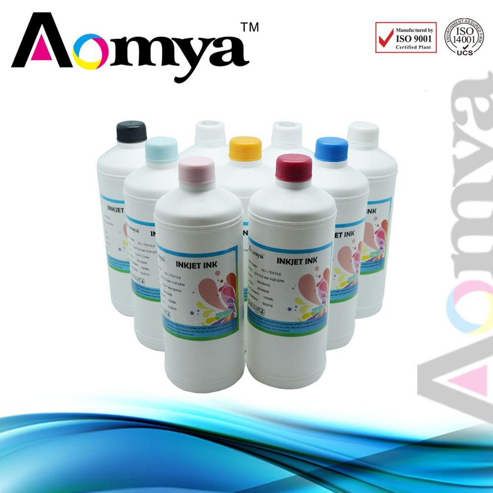 High quality specialized art paper ink For Epson Printer , 6C/set, 1000ml/bottle  [black ink] black refill ink for epson specialized for epson printer high quality dyebased ink