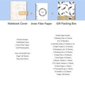 Image 5 - Carnet de notes et journaux A6 en spirale