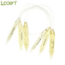 3 Size Looen 15mm/18mm/20mm Knitting Needles Carbonized Circular Set Double Pointed Yarn For Women