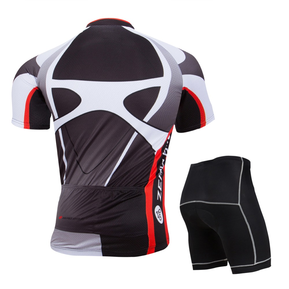 ZERO BIKE 2017New Men s Cycling Jersey+Shorts Quick Dry Bicycle clothes Gel  3D Padded Pants+Shirt M XXL-in Cycling Sets from Sports   Entertainment on  ... 91d720295