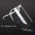 Dental Desmontable Ajustable Protección Completa de La Cara Con 10 Desmontables Viseras