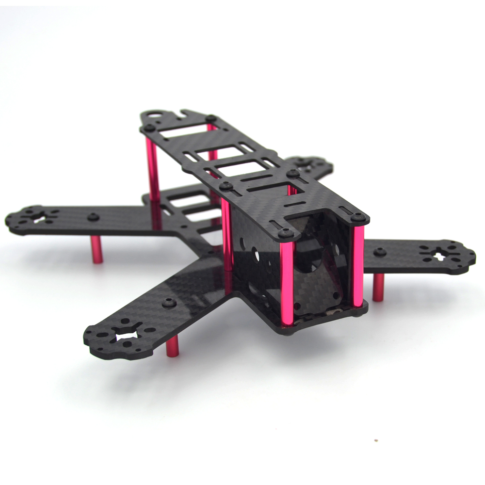 Mini 210mm Carbon Fiber Quadcopter Frame Kit For Lisam LS 210 QAV210
