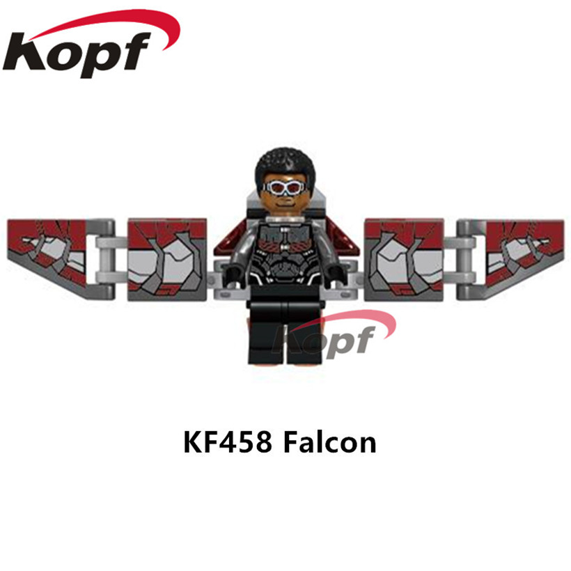 Blocks Unique Infinity Iron Vente Man Building Avengers War Falcon zqMpULSVG