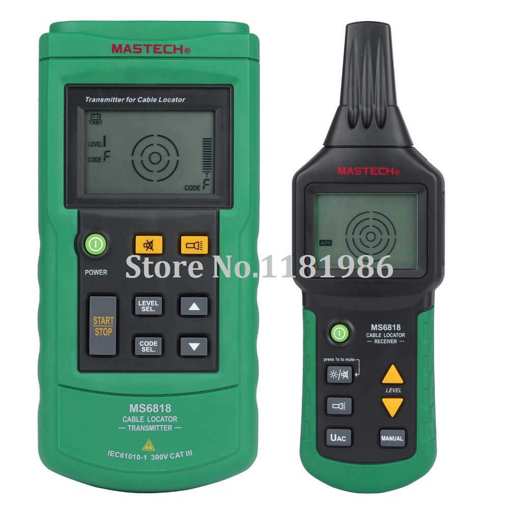 Cable Line Locator : Mastech ms portable professional wire cable tracker