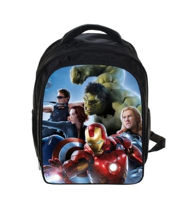 2e971145ddbf25 Detail Feedback Questions about 13 Inch The Avengers Superhero Backpack  Children School Bags Thor Iron Man Hulk Shoulder Bag Boys Girls Travel  Mochila ...