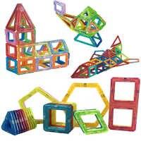 26 stücke Mini Magnetische Designer Bau Set Verschiedene Farben Kunststoff Konstruktor Magnetische Spielzeug Für Kinder Weihnachten Geschenk