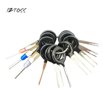 IZTOSS 11Pcs Car Terminal Removal Tools Tool Kit Wiring Connector Pin Release Extractor Tire Repair