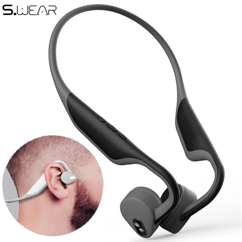 BH128 Wireless bluetooth 5.0 headphone neckband waterproof bone conduction earphone with mic PK LF-18BH128 Wireless bluetooth 5.0 headphone neckband waterproof bone conduction earphone with mic PK LF-18