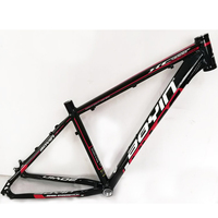 27.5inch mtb aluminum bike frame mountain bicycle frameset bicicletas mountain bike 27.5 alloy frames for 1800g