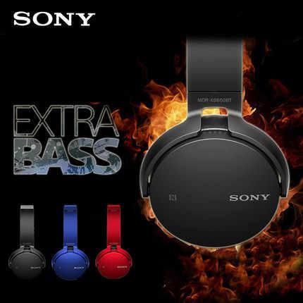 Sony Mdr Xb650bt Extra Bass Bluetooth Nfc Wireless Headphones Bluetooth Wireless Stereo Headset Black With Mic Nfc Aliexpress