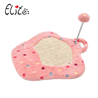 Cat Scratcher Tree Tower Toy Dot Blue Pink Catnip Sisal Kitten Cat Scratching Board With Plush Ball For Cats Products For Pets