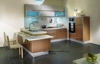 High gloss/lacquer kitchen cabinet mordern(LH LA065)