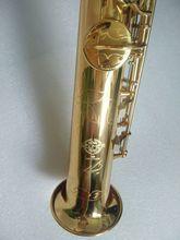 Новый Золотой Франции Сельма Анри 54 бемоль сопрано саксофон высокое качество Музыкальные инструменты сопрано Профессиональный доставка случае