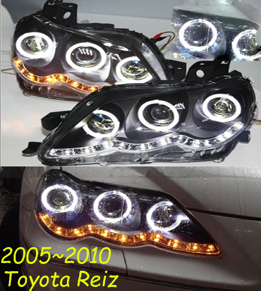 HID, 2005 ~ 2010, Car Styling pour Reiz Phare, Cruiser, RAV4, camry, Hiace, sienna, yaris, Tacoma, Reiz tête lampe; Mark X