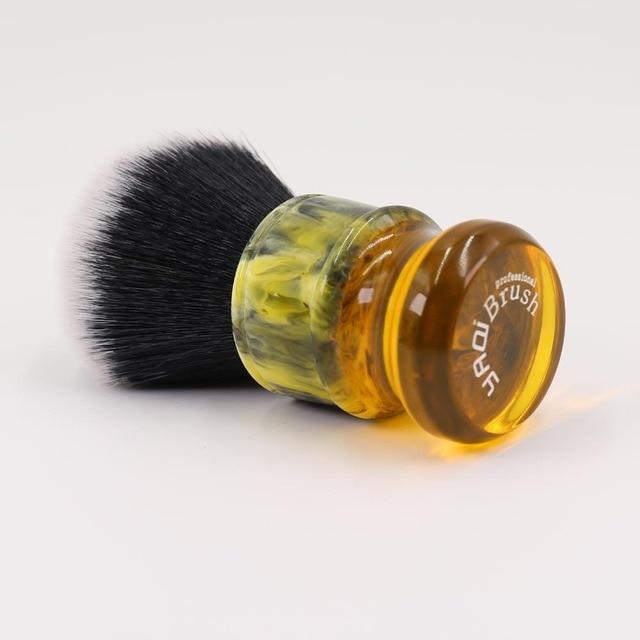 24MM Yaqi Sagrada Familia Black/White Synthetic Fibre Men Shave Brushes 1