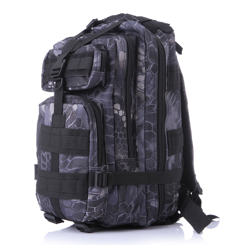 600D Nylon Men Women Military Backpack Casual Camo Bag Waterproof Travel Bag camo print nylon crossbody bag
